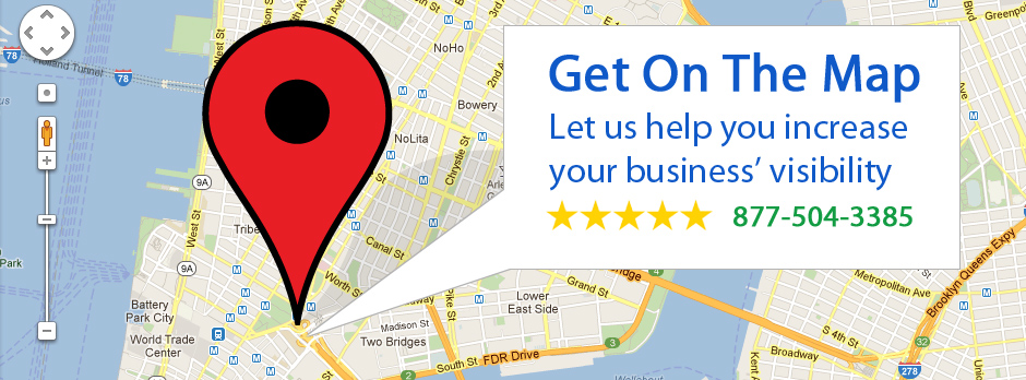 Get on Social: Get on the Map